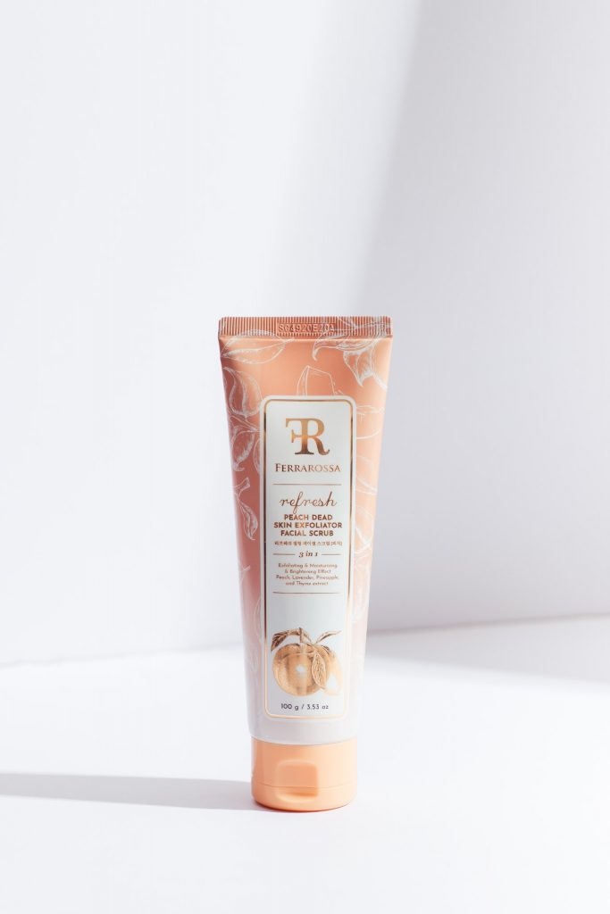 Exfoliator sesuai untuk semua jenis kulit dengan cellulose